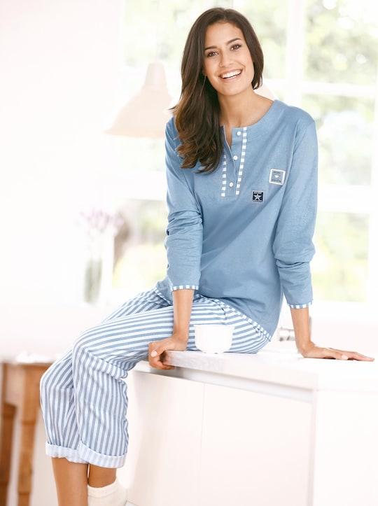 Driesen Schlafanzug - blau