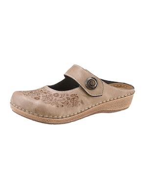 Franken Schuhe Clogs - taupe