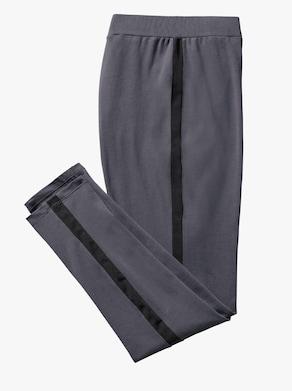 Leggings - grau-schwarz