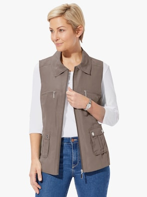 Gilet - taupe