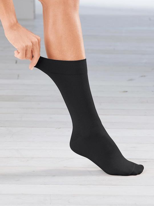 Rogo Socken - schwarz