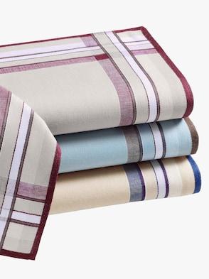 Zakdoekjes - op kleur gesorteerd