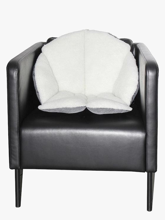 Sitzkissen - natur-grau