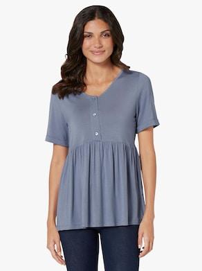 Tričko - holubí modrá