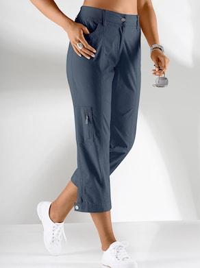 Collection L Hose wadenlang - jeansblau