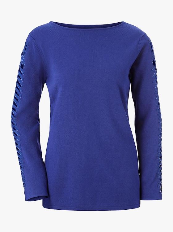 Pullover - royalblau