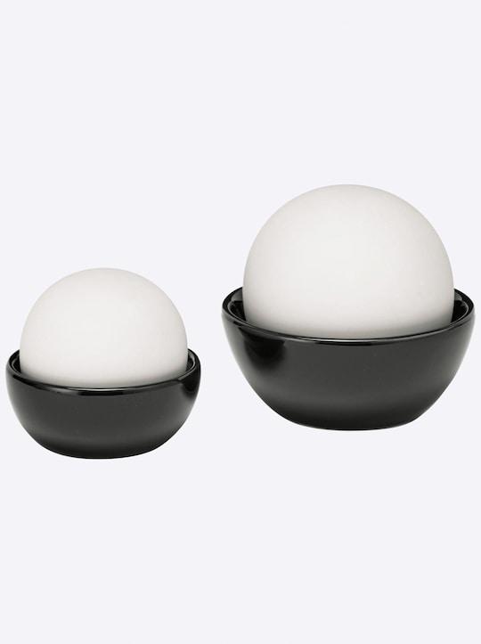 heine home Luftbefeuchter - schwarz-weiß