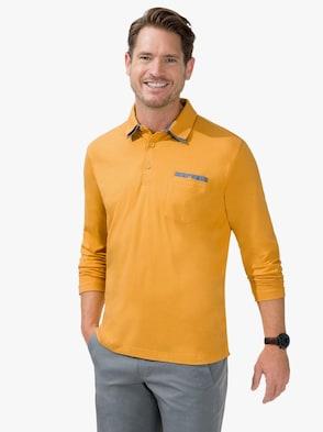 Langarm-Shirt - gelb