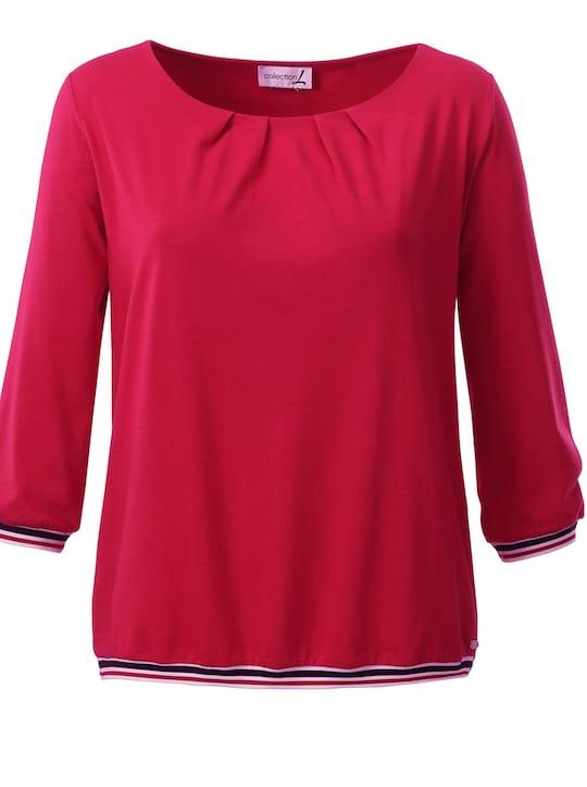 Collection L Shirt - erdbeerrot
