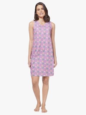 wäschepur Nachthemden - rosé + aqua