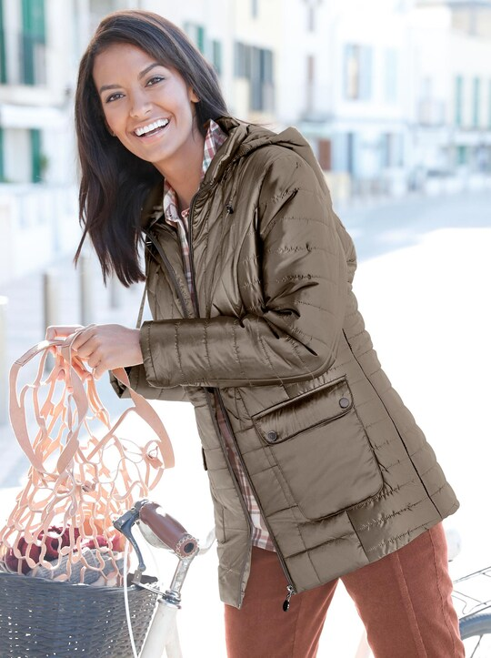Collection L Jacke - taupe