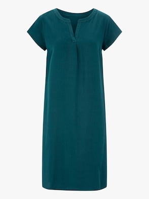 Kleid - dunkelgrün