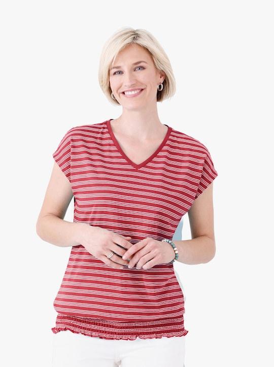 Shirt - aardbei gestreept