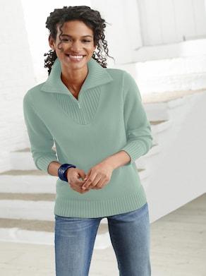 Pullover - kalkmint