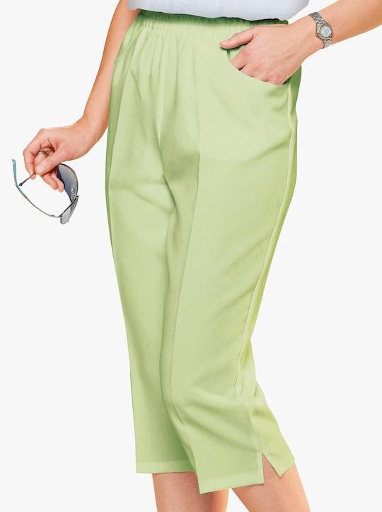 Capri-legging - lindegroen