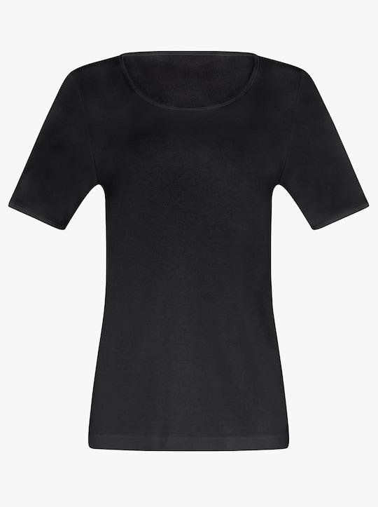 wäschepur Shirt - schwarz
