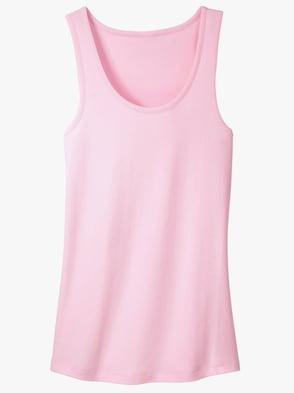 Hemd - roze + bleu + mint