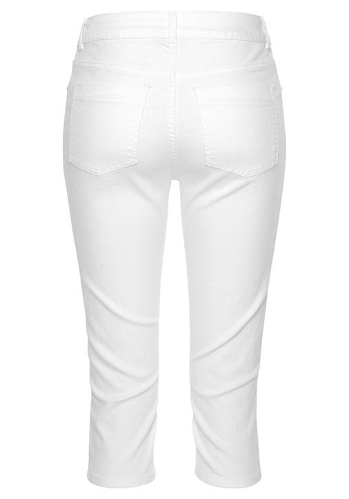 LASCANA Caprihose - weiß
