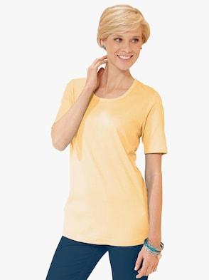 Shirt - vanillegelb