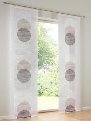 heine home Schiebevorhang - stein