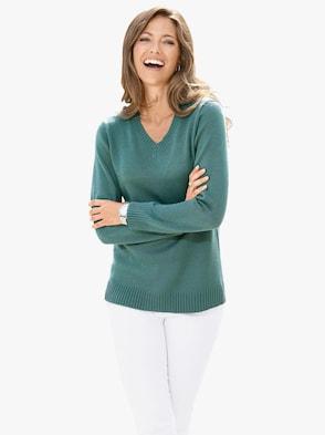 Pullover - jadegroen
