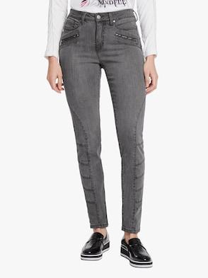 Bauchweg-Jeans - grey stone