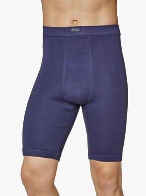 Kalhoty ke kolenům - námořnická modrá + námořnická modrá-potisk