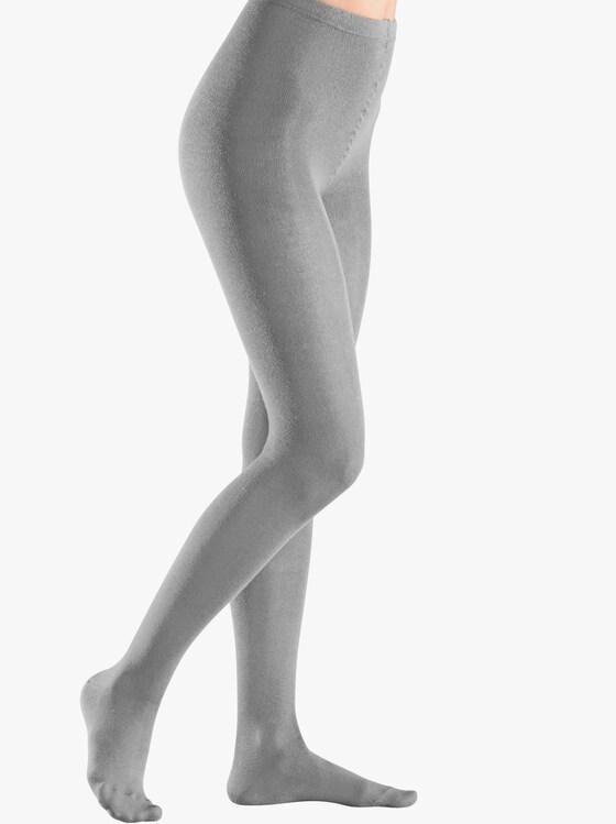 Rogo Zateplené pančuchové nohavice - sivá melírovaná