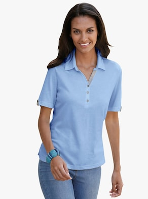 Collection L Poloshirt - bleu