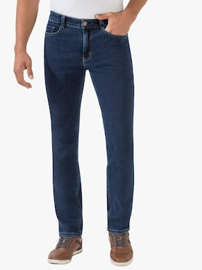 Jeans - darkblue-stone-washed