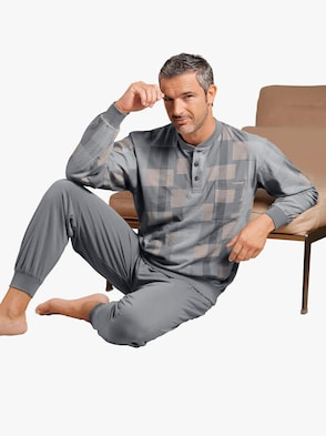 Schlafanzug - grau