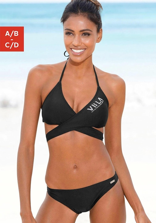Venice Beach Triangel-Bikini - schwarz