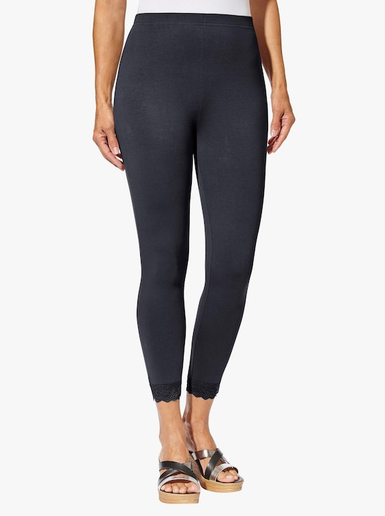 Leggings 3/4-lang - marine