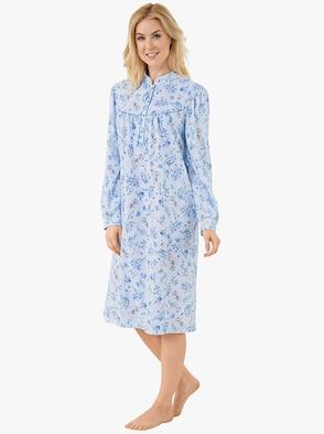 Nachthemd - bleu-bedruckt