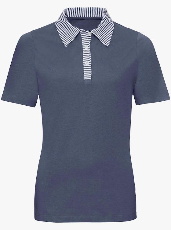 Poloshirt - jeansblauw