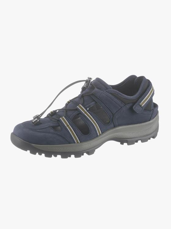 Waldläufer Klettschuh - dunkelblau