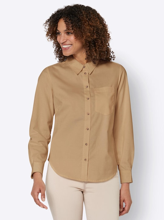 Bluse - camel