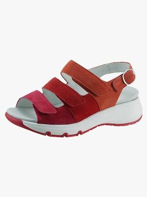 Waldläufer Sandale - rot