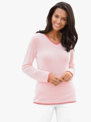 Pullover - hummer-weiß