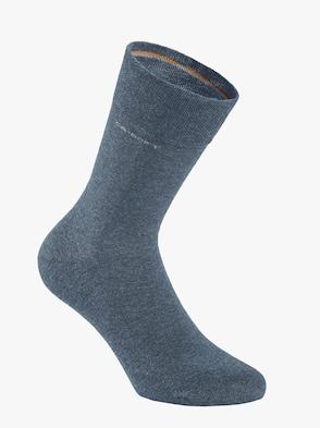 Socken - jeansblau