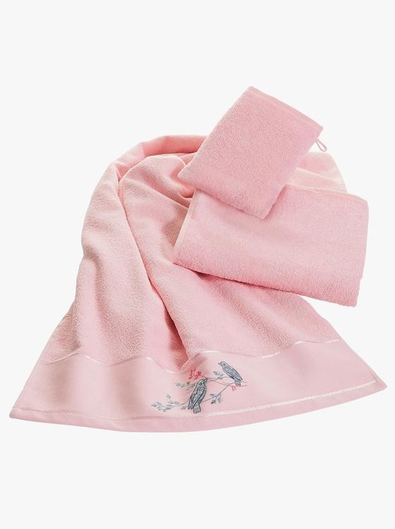 Badstofset - roze