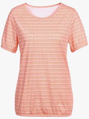 Shirt - orange-gemustert