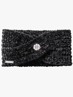 Stirnband - schwarz