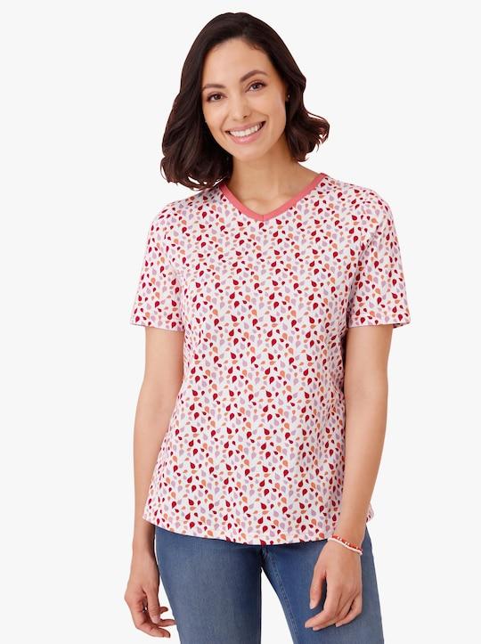 Shirt - aardbei bedrukt