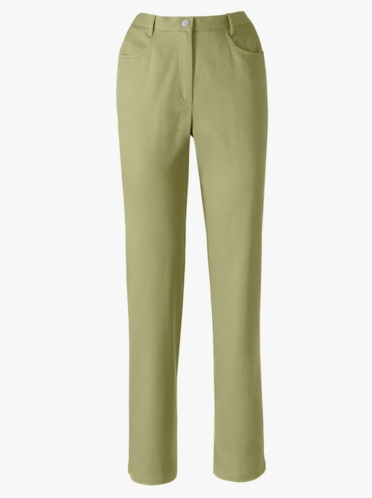 Jeans - rietgroen