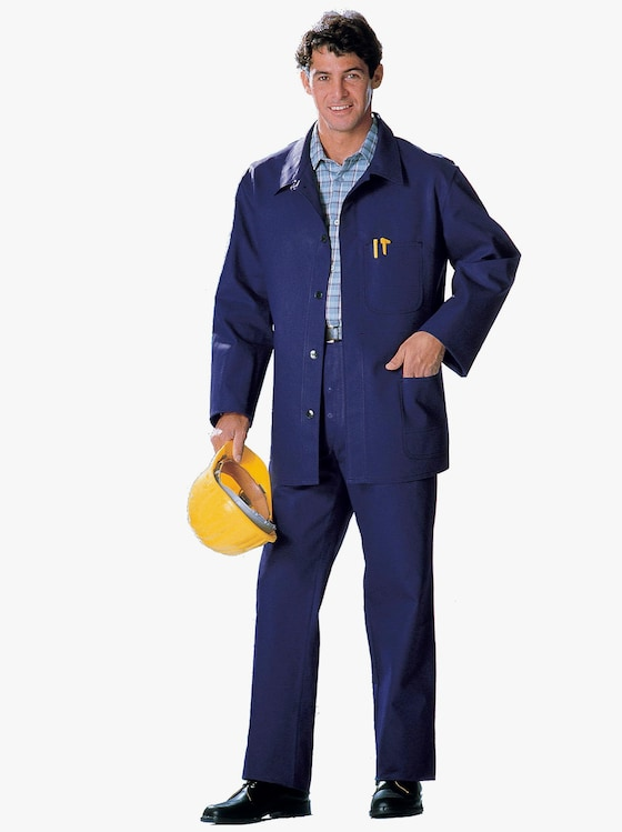 Arbeitsjacke - blau