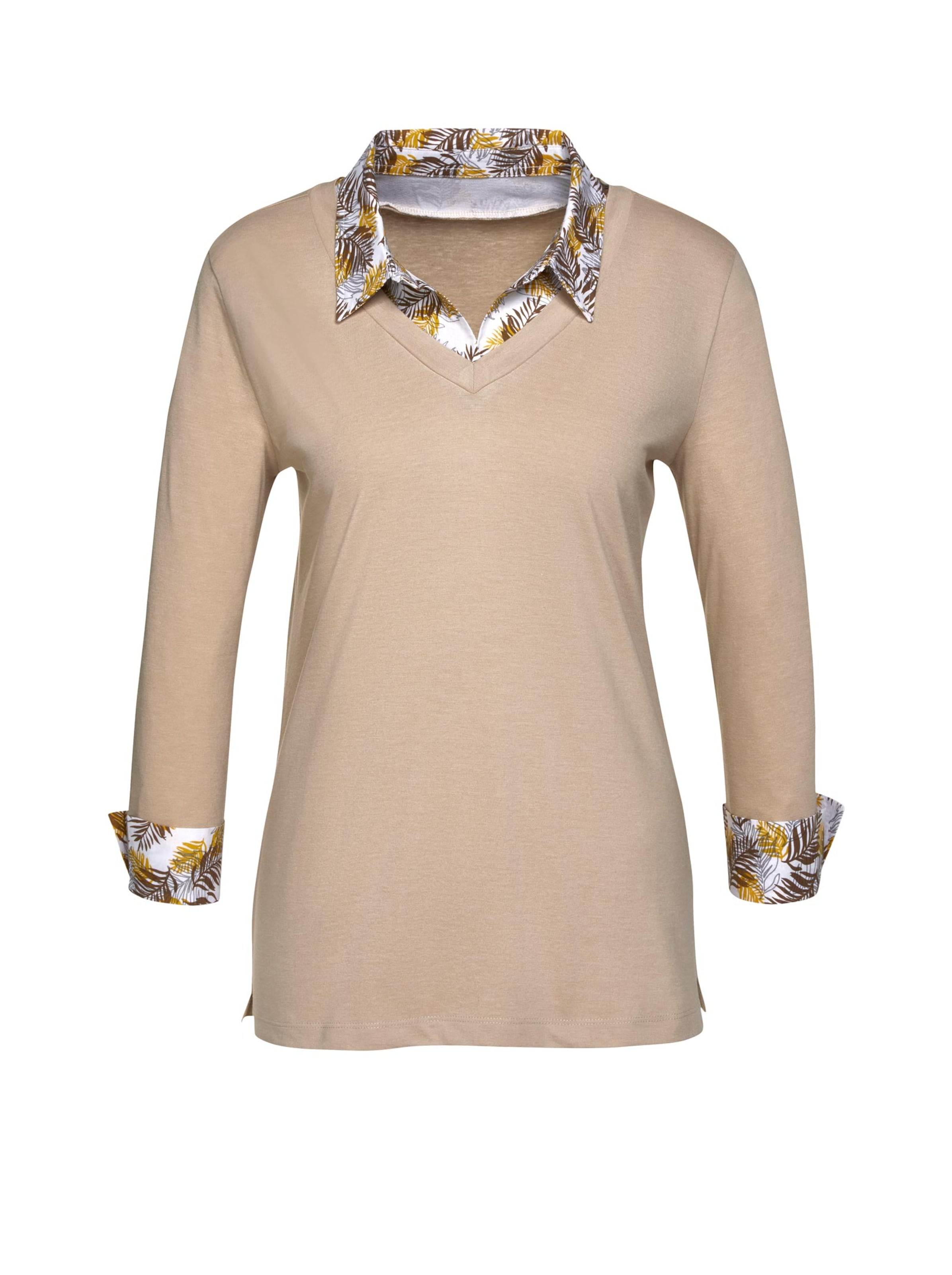 Damen Shirt beige