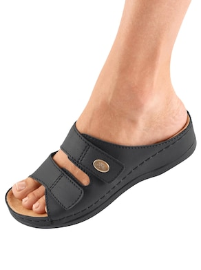 Pantolette - schwarz