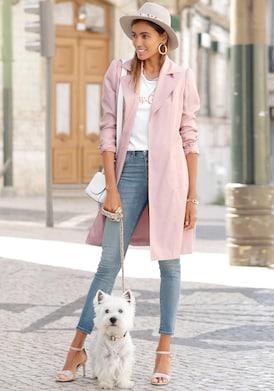 LASCANA Trenchcoat - rosa