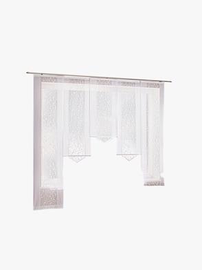 Schiebevorhang - weiß